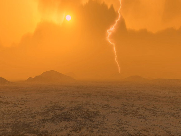 Image of the surface of Venus