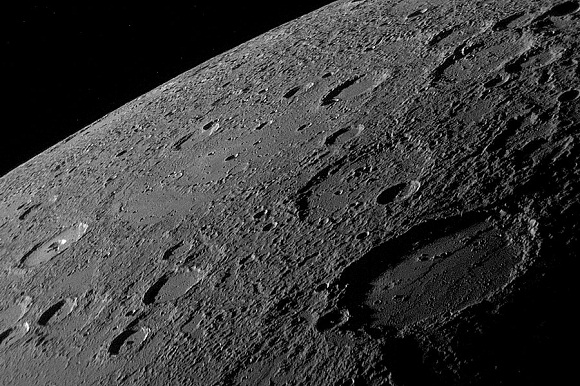 Image of mercury by messenger
