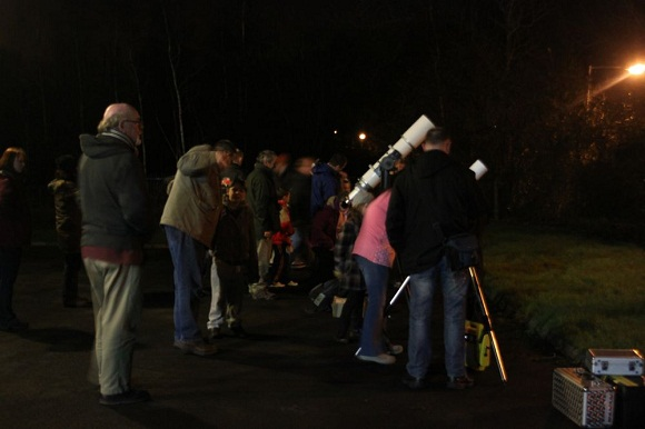 image of stargazing jan 2012 in armagh