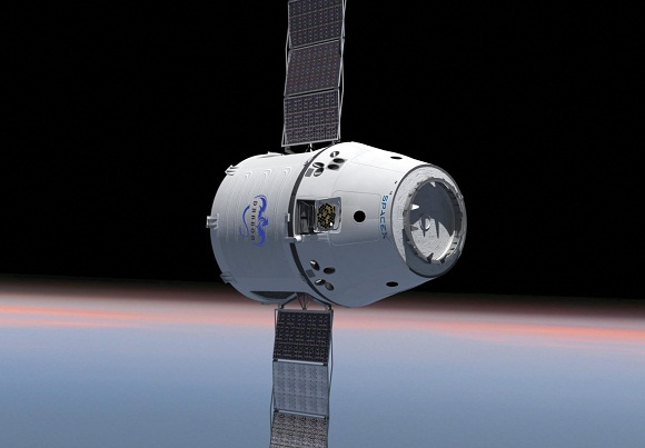 image of dragonlab in-orbit