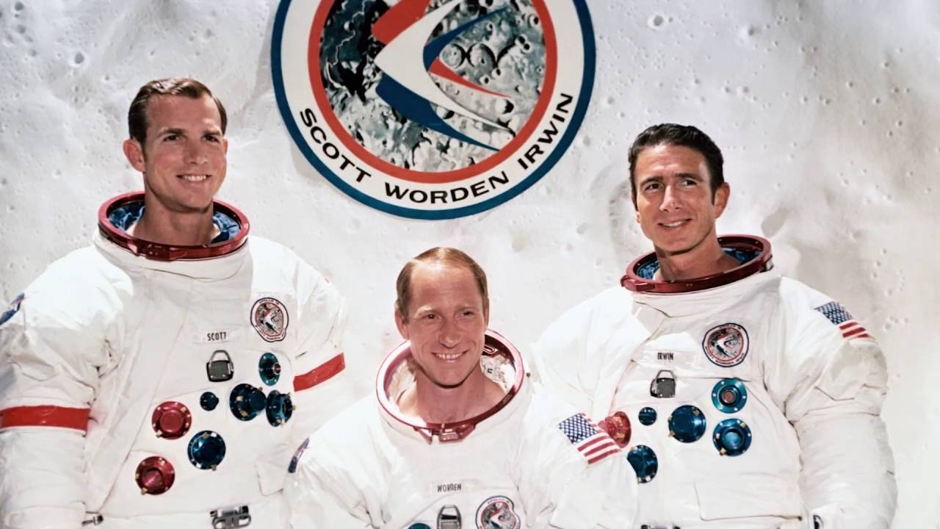 Image result for apollo 15 crew