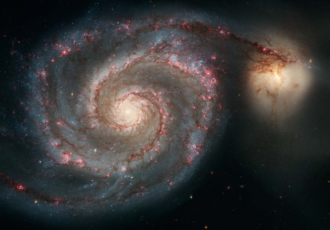 Messier 51 (The Whirlpool Galaxy) | NASA